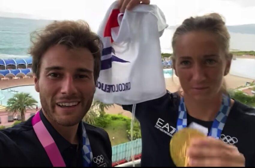 """Caterina Banti e Ruggero Tita, campioni olimpionici: """"Grazie al Circolo velico Kaucana"""""""