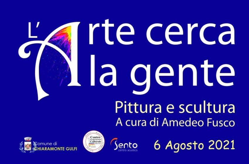 L'arte cerca la gente: expo di pittura e scultura alla Villa comunale di Chiaramonte