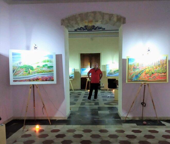 """La mostra Plurisensoriale """"TERRA"""" al Castello di Biscari ad Acate"""