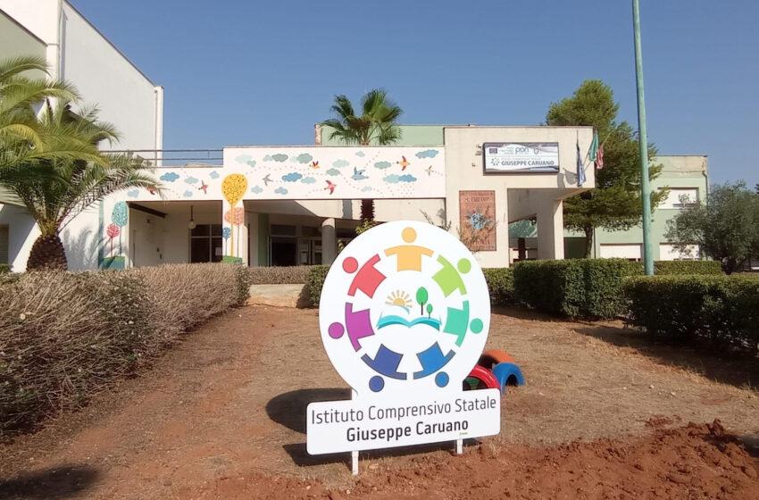 Vittoria, la scuola media dell'istituto Caruano intitolato a Falcone e Borsellino