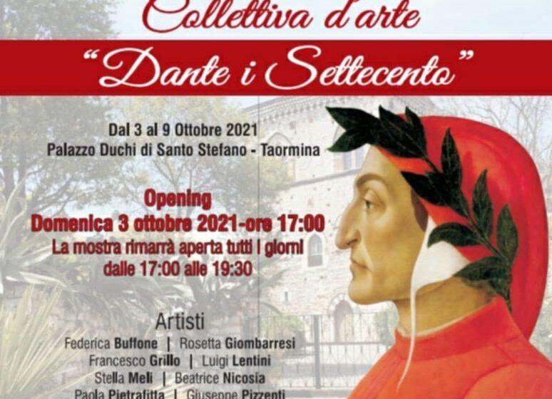 Dante i Settecento, collettiva d'arte a Palazzo dei Duchi di Santo Stefano a Taormina